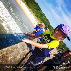 #Crabbing at #MyrtleBeach State Park #scstateparks