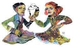 Juxtapoz Magazine - Illustrations by Takahiro Kimura