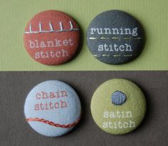 Re-use idea for pin back buttons