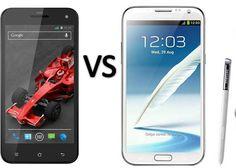 Compare Xolo Q1000S vs Samsung Galaxy Note 2