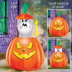 Personalized By You PUMPKINS Halloween Metal Accents Set of 8