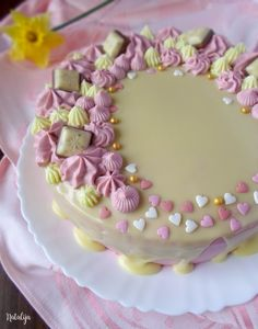 Torta Recipe, Chocolate Desserts, Food Photo, Cake Recipes, Cake Decorating, Food And Drink, Birthday Cake, Cooking Recipes, Sweets