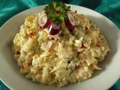 Vlašák z kysaného zelí Czech Recipes, Ethnic Recipes, Salad Recipes, Snack Recipes, Hungarian Recipes, What To Cook, Potato Salad, Food To Make, Food And Drink