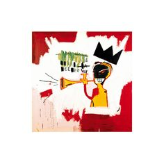 Trumpet, 1984 Giclee Print Wall Art ($28) ❤ liked on Polyvore featuring home, home decor, wall art, giclee wall art and giclee poster