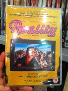 """Do you already know our second """"DVD of the week""""?  It is """"Reality"""" - Film di Matteo Garrone (2012).  Have a look at the trailer, with English subtitles  """"a bubblegum fable with an acid aftertaste"""", wrote Ryan Gilbey on The Guardian:   Read the review by Pasquale Iannone at BFI website You can find it in #London also at The Italian Bookshop, the only place with the largest collection of Italian DVD with English subtitles"""