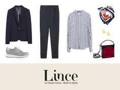 Estilo #navy #Shoes #Lince #Linceshoes #outfit #look #sneakers