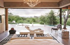 The Molori Safari Lodge is a luxurious game lodge for the discerning traveler, ideally positioned in the Madikwe Game Reserve, in South Africa. Tiny House, Lodge Bedroom, Safari, African Furniture, Game Lodge, Villa, Kit Homes, Celestial, Furniture Decor