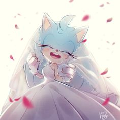 Sonic genderbender getting married