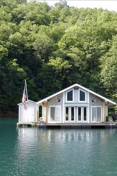 Travel North Carolina Floating Cabin Unique Accommodations Places To Stay Adventure Overnight Bed & Breakfast Summer Camping Places, Vacation Places, Vacation Destinations, Vacation Trips, Dream Vacations, Places To Travel, Vacation Travel, Vacation Ideas, Midwest Vacations