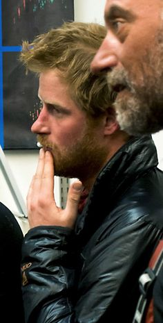 Prince Harry looking kinda scruffy! I love it!!!