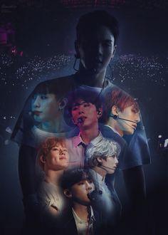 'Monsta X' Poster by MakaylaCar Jooheon, Hyungwon, Kihyun, Monsta X Minhyuk, K Pop, Day6 Sungjin, Monsta X Funny, Fandoms, Starship Entertainment