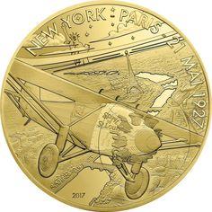50 Euro Gold Spirit of St. Louis PP