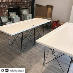 """Great #CentipedeTestimonial that speaks to the #versatility of the #CentipedeSupport System as he recalls the various projects these units were used for in the lead up to this #door #painting #project. Repost via @ralphglass3:  Whelp, there's another use for my @centipedetool sawhorses, from trimming a 4"""" x 16"""" x 20"""" PSL beam, stacked with framing lumber, used as jobsite work table, to painting some interior doors, they do it all. Easy setup/takedown and they take up a very small amount of…"""