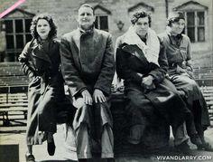 The Oliviers / Candids / 1930s | vivandlarry.com gallery