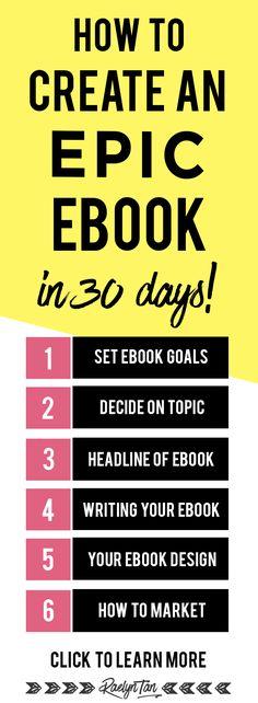 How to write an eboo...