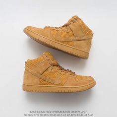 separation shoes 5ed2f 31ae6  82.84 Nike Dunk High Youth,Original Box FSR Nike Dunk High PRM Brown Ale  Malt