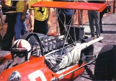 Chris Amon at the 1969 South African Grand Prix