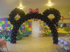 arco de globos by ambientebuenosaires, via Flickr
