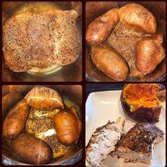 One Pot (Frozen) Chicken & Sweet Potatoes | Instant Pot Pressure Cooker - Food Under Pressure