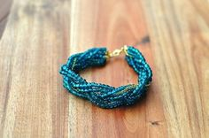 Bead and Chain Braid | Community Post: 24 Super Easy DIY Bracelets