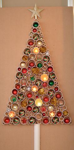 DIY PVC Pipe Christmas Tree  Pvc pipes Pvc pipe and Christmas trees