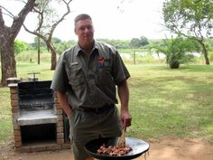 Breakfast grilled at. Kruger National Park guided safari by Wild Wings Safaris