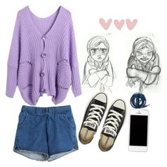"""Frozennnnn"" by gretamariaa ❤ liked on Polyvore featuring Disney, Converse and Urbanears"