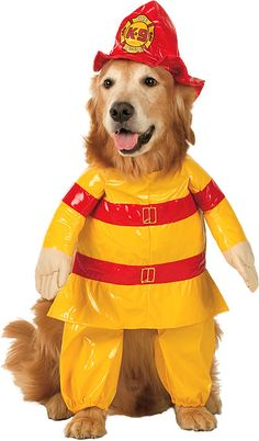 Put It Out in this Fireman Dog | Job Costumes