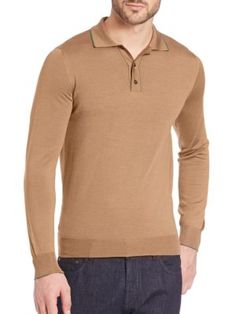 SALVATORE FERRAGAMO Polo Sweater. #salvatoreferragamo #cloth #sweater