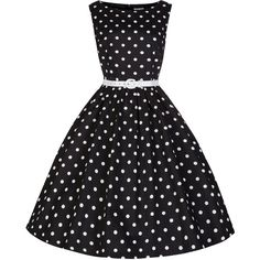 Lindy Bop Classy Vintage Audrey Hepburn Style 1950's Rockabilly Swing... ($54) ❤ liked on Polyvore featuring dresses, rockabilly dresses, vintage cocktail dresses, vintage dresses and vintage rockabilly dresses
