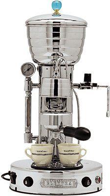 Ascaso Elektra Micro Casa Semiautomatica Chrome Espresso & Cappuccino Machine
