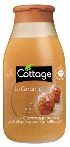 """Cottage - Douche Gommage au sucre """"le caramel"""""""