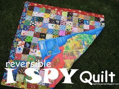 Nap Time Journal: I SPY reversible Quilt: Gift of Meaning 2012