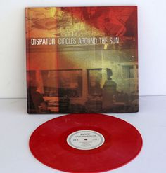 DISPATCH circles around the sun LP Record PINK Vinyl with CD and Hardback book #AlternativeIndiePunkNewWaveRootsRock