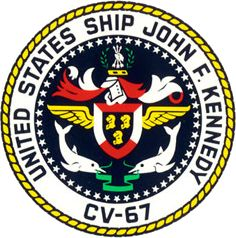 USS John F. Kennedy - Wikipedia, the free encyclopedia Us Navy, Navy Day, Military Life, Military Art, Military Service, Military Units, Churchill, Marine Corps Medals, Military Insignia