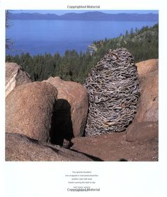 """Andy Goldsworthy - from the book, """"Stone"""""""
