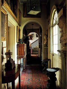 Fantastic feature in the Sept. 2013 World of Interiors~ Albert Richardson's Avenue House in Ampthill (photo from bdonline.co.uk)