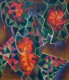 By Hernando Ocampo, Filipino National Artist Value Painting, Painting & Drawing, Entryway Art, Filipino Art, Philippine Art, Art Cart, Indigenous Art, Process Art, Japanese Artists