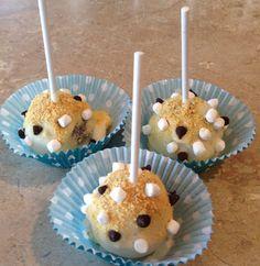 S'mores cake balls