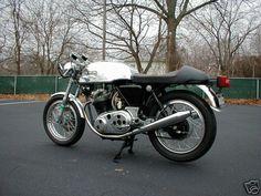 95_12 Cafe racer, motorcycle
