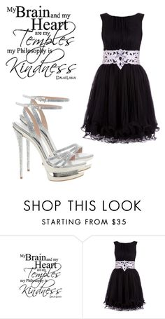 """""""Kindness"""" by black-wings ❤ liked on Polyvore featuring Walls Need Love, ASOS, Gianmarco Lorenzi and Letter_B"""