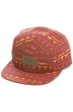 Obey Hat Marrakesh Red love this 905d08a05cc5