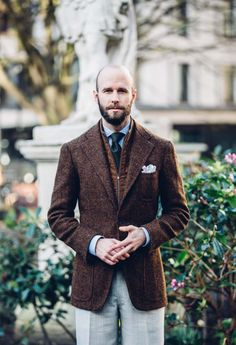 http://chicerman.com  iqfashion:  Source: permanentstyle.co.uk - Final bespoke gilet Davide Taub at Gieves & Hawkes  #menshoes