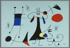 See our outstanding selection of Joan Miro prints, lithographs & pochoirs for sale online. offers rare Miro art with satisfaction guaranteed. Joan Miro Artwork, Joan Miro Paintings, Pablo Picasso, Tag Art, Joan Miro Pinturas, Miro Artist, Spanish Painters, Design Museum, Screen Printing