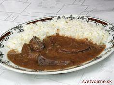 Bravčová pečeň na šťave • Recept | svetvomne.sk