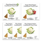 Cali'flour Foods Cauliflower Pizza Crust, Variety Pack Bundle of Plant-Based and Low Carb Options, 10 crusts in each bundle, Image 1 of 1