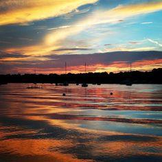 Never gets old #sunset #boatlife http://ift.tt/1NlLhvg