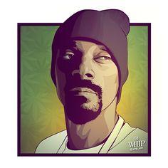Snoop Dogg Portrait on Behance
