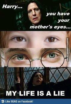 A lie - 15 hilarious snape memes harry potter fan art, hogwarts, humor, Memes Do Harry Potter, Mundo Harry Potter, Harry Potter Pictures, Harry Potter World, Harry Potter Draco Malfoy, Potter Facts, Harry Potter Films, Harry Potter Francais, Jarry Potter