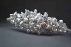 Image result for handmade bridal tiara